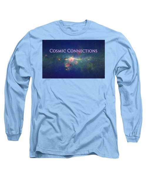 Long Sleeve T-Shirt featuring the photograph Cosmic Connections by Lanita Williams