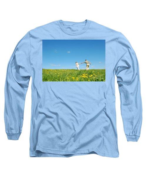 Couple Having Fun Long Sleeve T-Shirt
