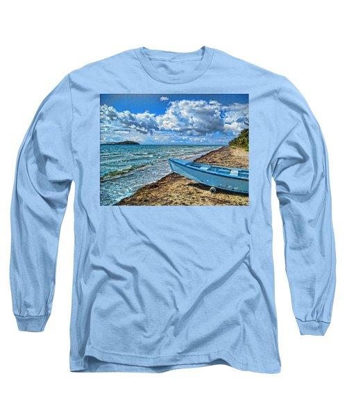 Crash Boat Long Sleeve T-Shirt