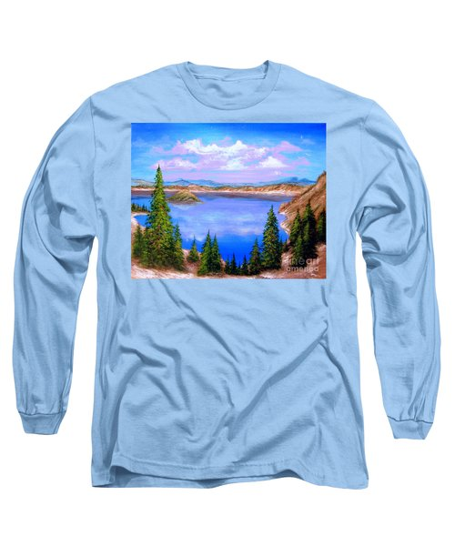 Crater Lake Oregon Long Sleeve T-Shirt