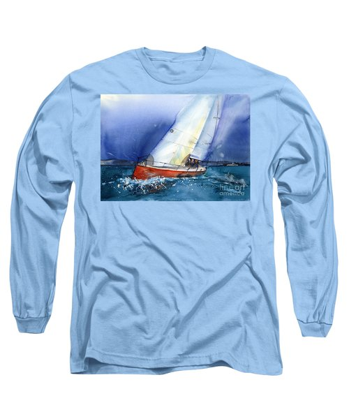 Crazy Coyote - Sailboat Long Sleeve T-Shirt