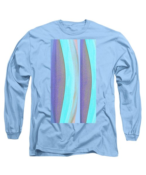 Long Sleeve T-Shirt featuring the painting Curves2 by Stephanie Grant
