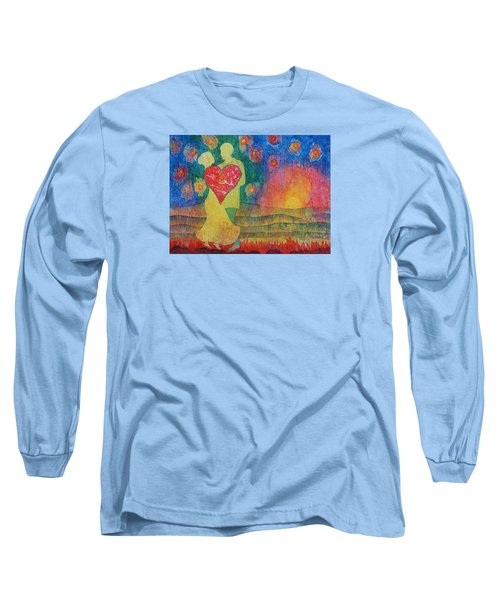 Danced Until Dawn Long Sleeve T-Shirt by Lynda Hoffman-Snodgrass