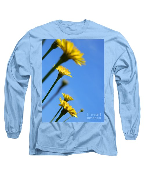 Dancing With The Flowers Long Sleeve T-Shirt