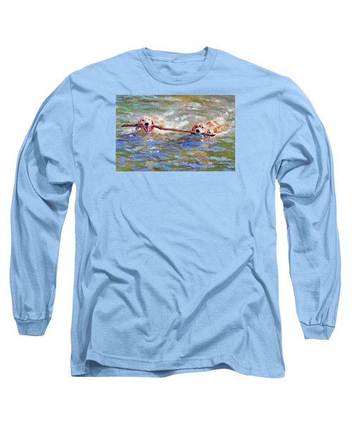 Da152 Sticking Together By Daniel Adams Long Sleeve T-Shirt