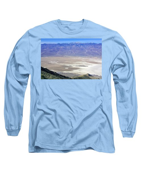 Long Sleeve T-Shirt featuring the photograph Dante's View #4 by Stuart Litoff