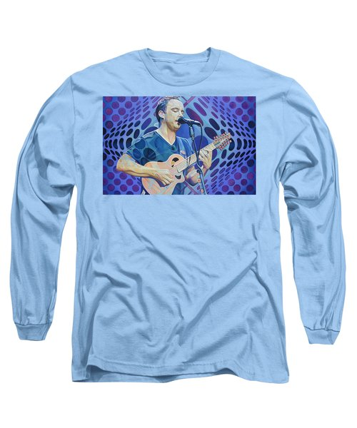 Dave Matthews Pop-op Series Long Sleeve T-Shirt by Joshua Morton