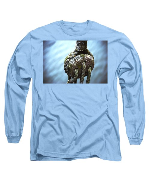 Dead Eye - Nautical Art  Long Sleeve T-Shirt by Charlie Brock