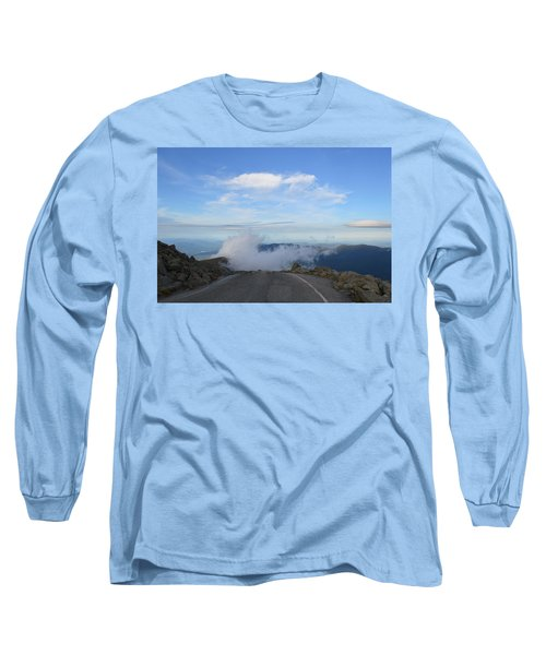 Descending Into The Clouds Long Sleeve T-Shirt