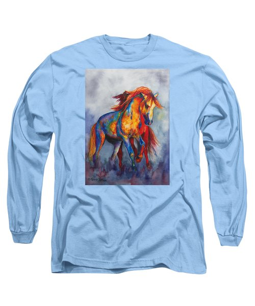 Desert Dance Long Sleeve T-Shirt by Karen Kennedy Chatham