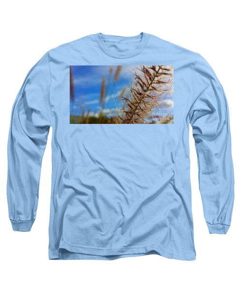 Desert Foliage Long Sleeve T-Shirt by Chris Tarpening