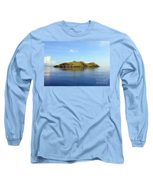Long Sleeve T-Shirt featuring the photograph Desert Island by Sergey Lukashin