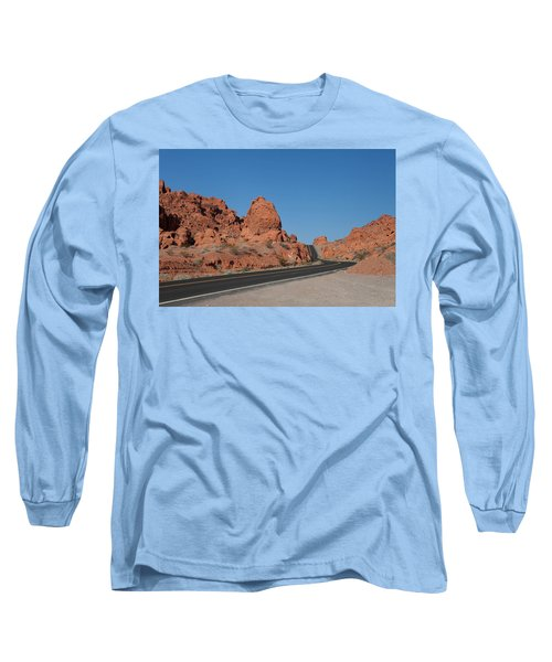 Desert Rock Formations Long Sleeve T-Shirt