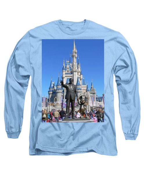 Disney And Mickey Long Sleeve T-Shirt by Kevin Fortier