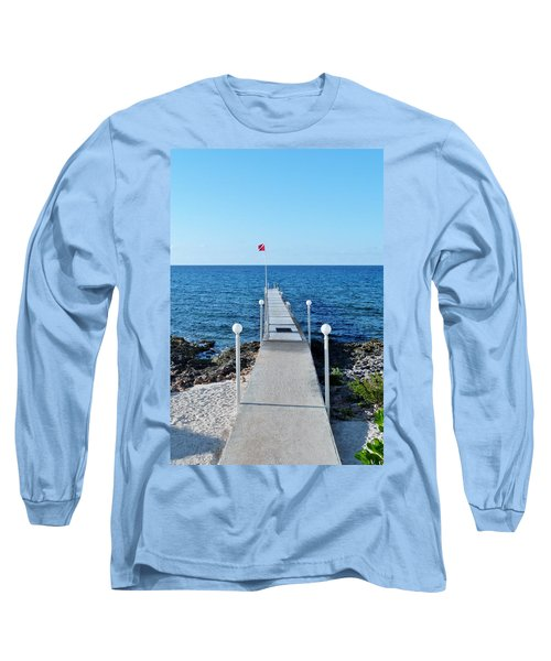Long Sleeve T-Shirt featuring the photograph Divers Down by Amar Sheow