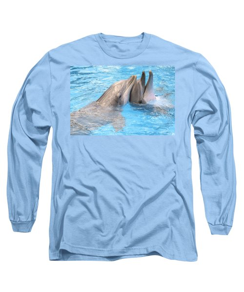 Bff - Best Friends Forever Long Sleeve T-Shirt by Greg Collins