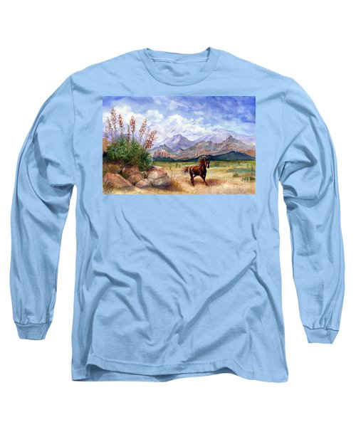 Don't Fence Me In Long Sleeve T-Shirt