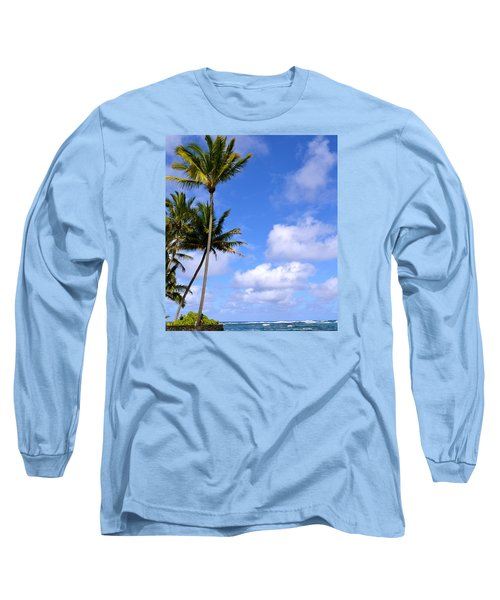 Down By The Ocean In Hawaii Long Sleeve T-Shirt