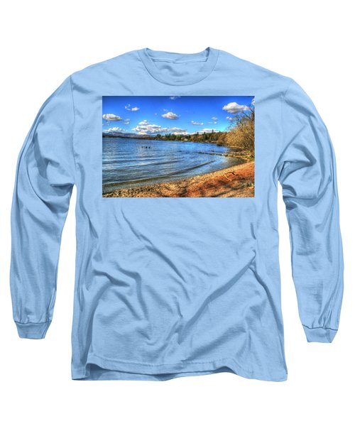 Long Sleeve T-Shirt featuring the photograph Down By The Riverside by Doc Braham