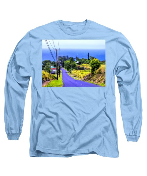 Down Into Honokaa Long Sleeve T-Shirt