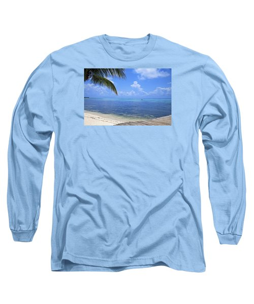 Down Island Long Sleeve T-Shirt by Stephen Anderson