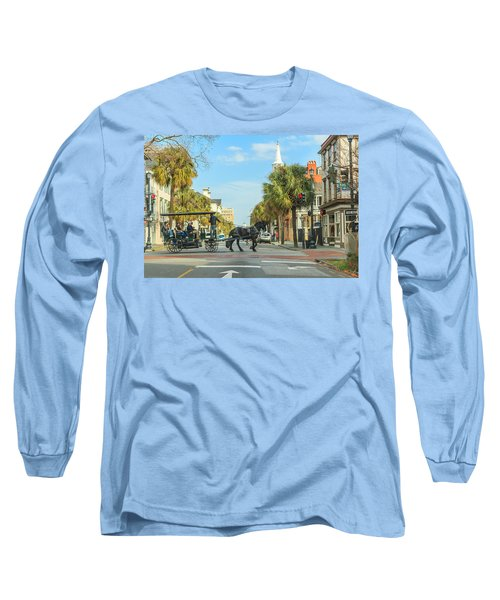 Downtown Charleston Stroll Long Sleeve T-Shirt