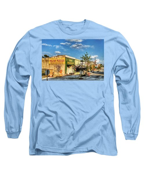 Downtown Milan Long Sleeve T-Shirt
