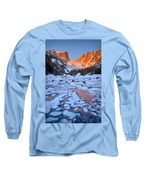 Dream Lake - Rocky Mountain National Park Long Sleeve T-Shirt by Ronda Kimbrow