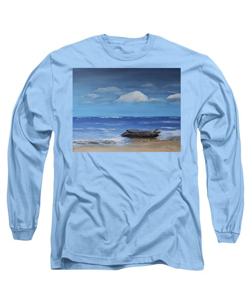 Driftwood Long Sleeve T-Shirt by Dick Bourgault