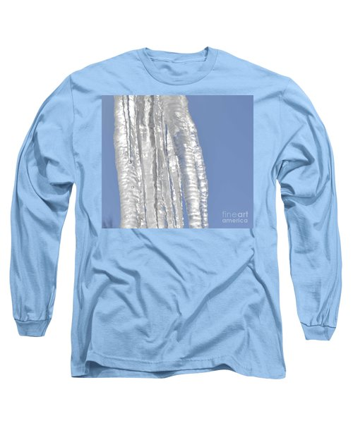 Long Sleeve T-Shirt featuring the photograph Drip Caught In Action by Luther Fine Art