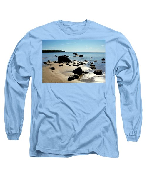 Drummond Shore 2 Long Sleeve T-Shirt by Desiree Paquette