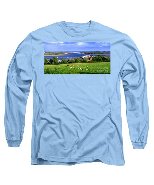 Long Sleeve T-Shirt featuring the photograph Dundrum Bay In County Down Ireland by Nina Ficur Feenan