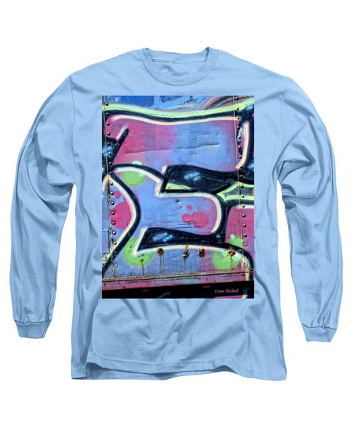 E Is For Equality Long Sleeve T-Shirt by Donna Blackhall