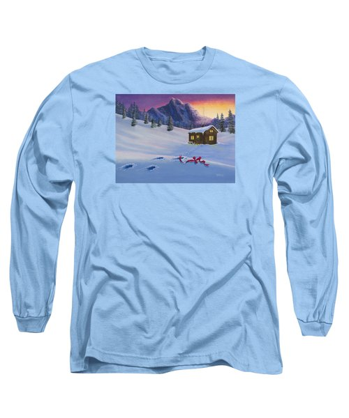 Early Christmas Morn Long Sleeve T-Shirt by Jack Malloch