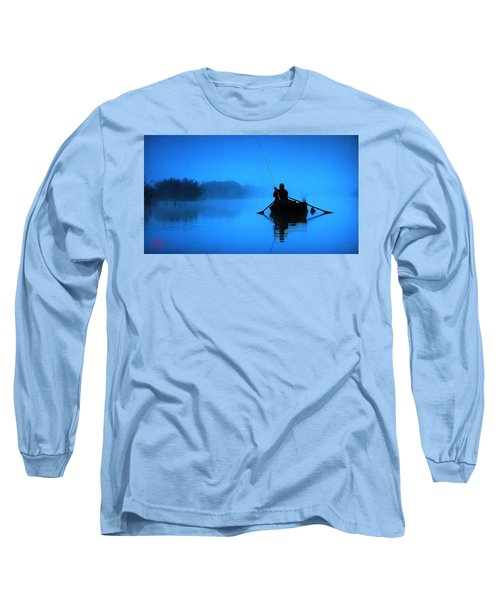 Early Morning Fishing  Long Sleeve T-Shirt