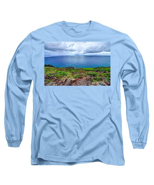 Earth Sea Sky Long Sleeve T-Shirt