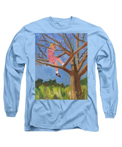 Easter In The Apple Tree Long Sleeve T-Shirt