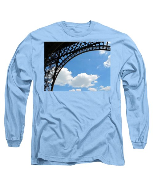 Eiffel Clouds Long Sleeve T-Shirt