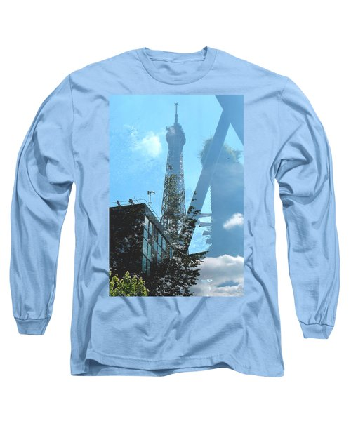 Eiffel Collage Long Sleeve T-Shirt