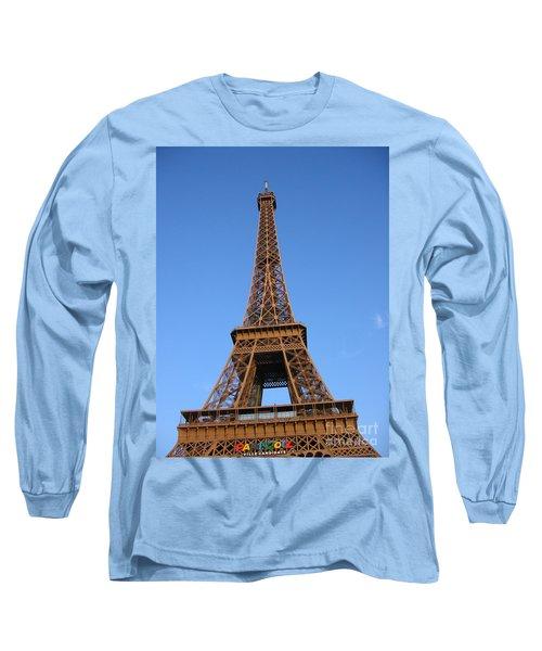 Eiffel Tower 2005 Ville Candidate Long Sleeve T-Shirt by HEVi FineArt