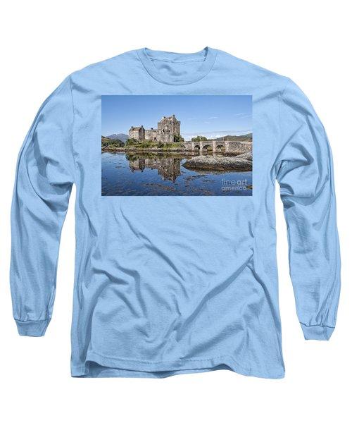 Eilean Donan Castle Reflections Long Sleeve T-Shirt