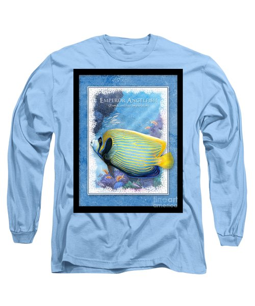 Emperor Angelfish Long Sleeve T-Shirt