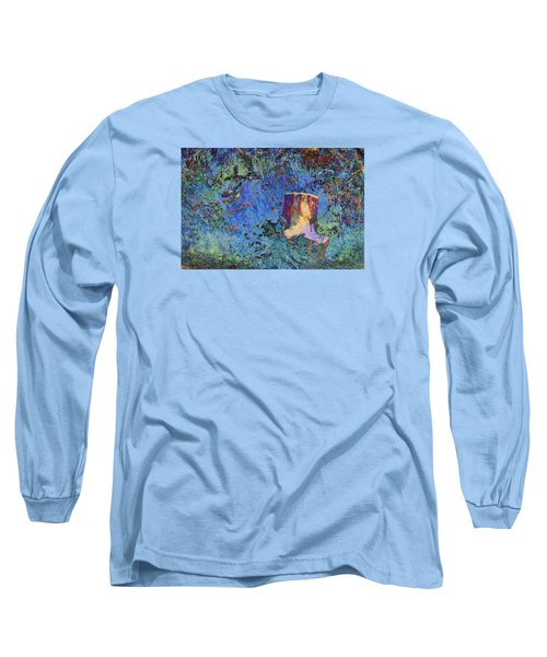 Long Sleeve T-Shirt featuring the photograph Enchanting Snow Forest by Phyllis Denton