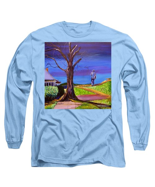 End Of Day Highway 98 Long Sleeve T-Shirt