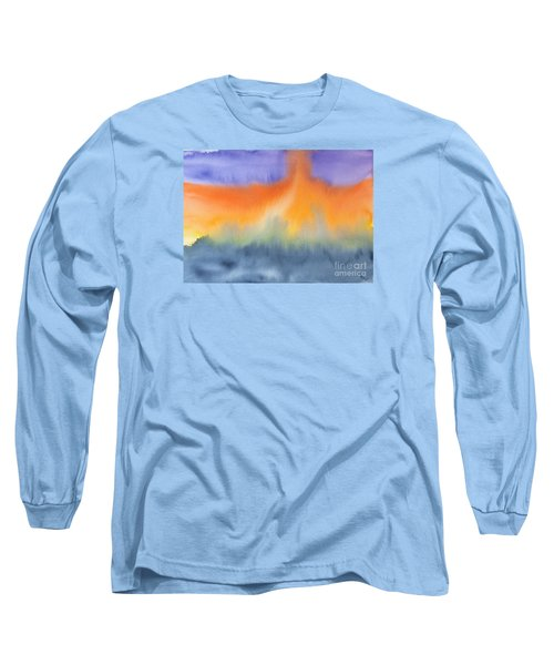 Energy Force Long Sleeve T-Shirt by Susan  Dimitrakopoulos