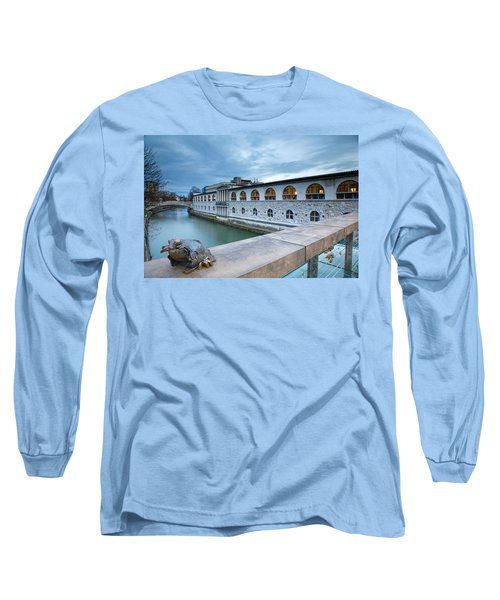Evening In Ljubljana Long Sleeve T-Shirt