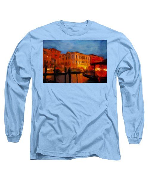 Evening In Venice Long Sleeve T-Shirt