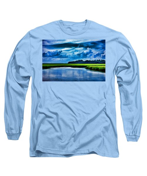 Evening On The Marsh Long Sleeve T-Shirt