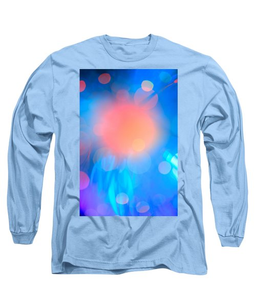 Evolution Orange Long Sleeve T-Shirt by Dazzle Zazz