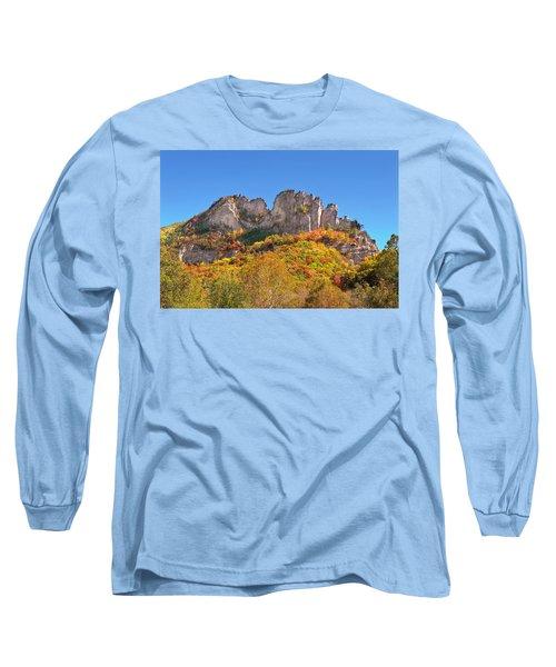 Fall At Seneca Rocks Long Sleeve T-Shirt